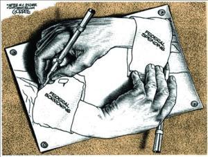 borrowing-spendingescher-hands