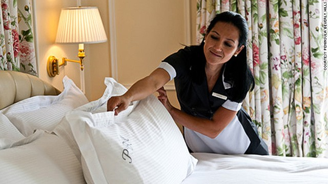 marriott housekeeping