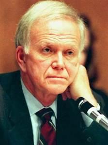 Former Senator Bob Packwood (R-Ore)