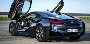 The purchaser of a $135,000 BMW i8 would be eligible for a $3,000 rebate from the state under H.R. 2092