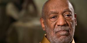 "In this photo taken Nov. 6, 2014, entertainer Bill Cosby pauses during an interview about the upcoming exhibit, Conversations: African and African-American Artworks in Dialogue, at the Smithsonian's National Museum of African Art in Washington. The Smithsonian Institution is mounting a major showcase of African-American art and African art together in a new exhibit featuring the extensive art collection of Bill and Camille Cosby. More than 60 rarely seen African-American artworks from the Cosby collection will join 100 pieces of African art at the National Museum of African Art. The exhibit ""Conversations: African and African American Artworks in Dialogue,"" opens Sunday and will be on view through early 2016. (AP Photo/Evan Vucci)"