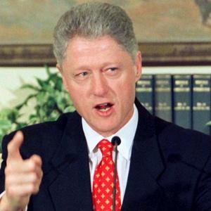 """I did not have sexual relations with that woman."""