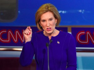 Carly Fiorina at the Sept. 16 GOP debate