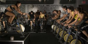 A SoulCycle class