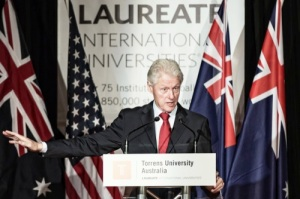 Bill Clinton at Torrens