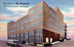 In June 1948, The newspaper moved to a new building on Southwest Broadway.