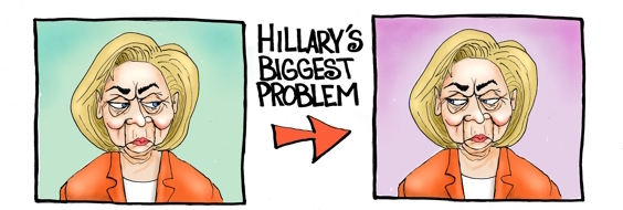 hillarycartoon