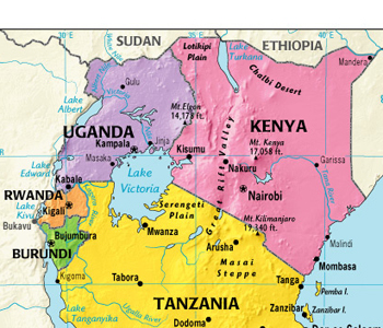 map-of-east-africa-community