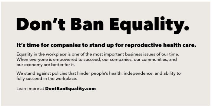 dontbanequality